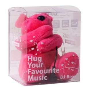 全新連盒 DJ-Bears Huggy Speaker Stereo Amplifier 熊仔場聲器