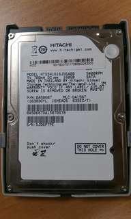 Hard Disk laptop 160GB
