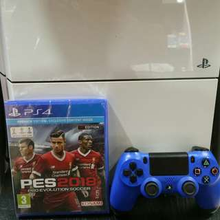 Ps4 With Pes 2018 LFC edition