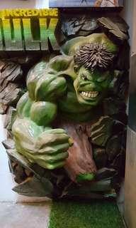 Green hulk rasin recast