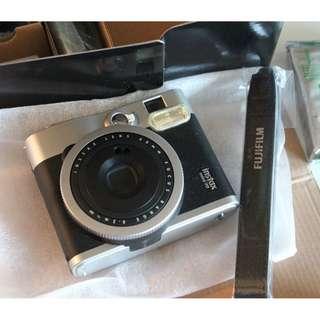 FUJIFILM INSTAX MINI 90 Camera NEO CLASSIC Includes 10 EXPOSURE FILM NIB