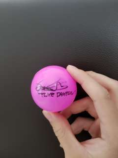 WTT DAHYUN TWICELAND SIGNED BALL