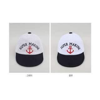 Sailor Nautical Anchor Cap for kids