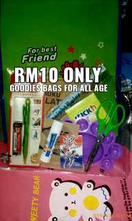 stationary goodies bags