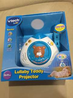 NEW - VRTECH Lullaby Teddy Projector