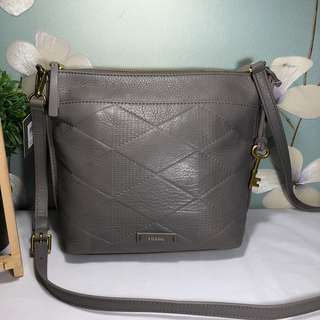 Fossil Julia CB Grey Embossed