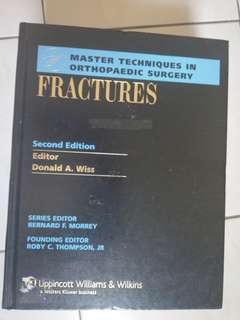 BRAND NEW MASTER TECHNIQUES IN ORTHOPEDIC SURGERY FRACTURE