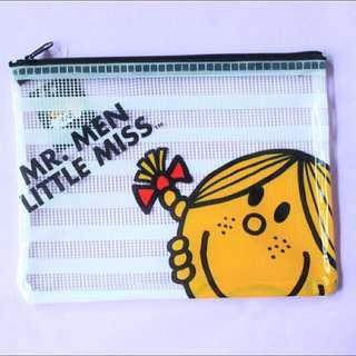 *全新包郵*Little Miss Sunshine 拉鏈文件網袋