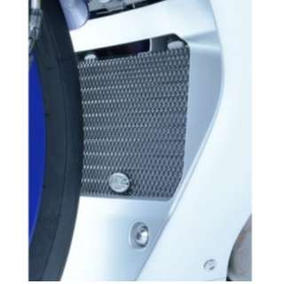 Titanium Oil Cooler Guard for the Yamaha YZF-R1/R1M '15-