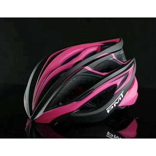 💯🆕PMT Bicycle/Cycling Helmet with Ultralight Breathable Design Mountain/Road Bike Helmet (Pink+Black)