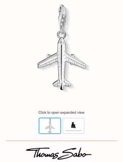 Thomas Sabo airplane pendant