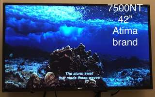 "43"" LED Display TV set Atima brand"