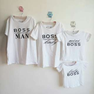 Family Boss Terno Set