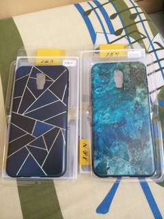 240 for both! Grid and marble case for J7 plus/J7+ (rubber cases)