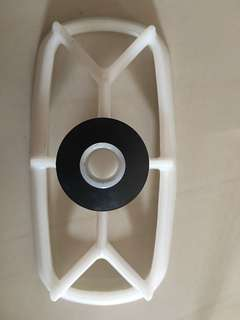 Honda XR400 air filter holder/cage
