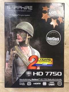Sapphire Radeo HD 7750 OC Edition