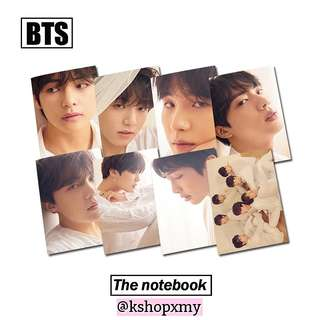 BTS ' Fake Love ' A5 Notebook ( U Version )
