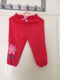Toddler Semi Long Pants 2T