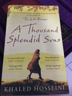 Book - A Thousand Splendid Suns