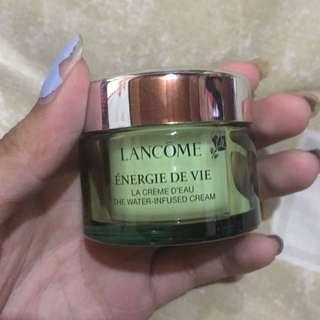 Authentic Lancome Energie De Vie The Water-Infused Cream