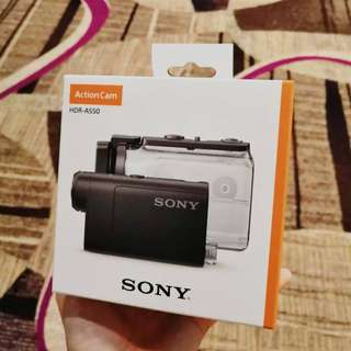 New Sony Action Cam HDR-AS50