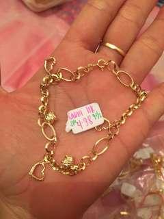 18 k Saudi Gold(Real )no bargain!!