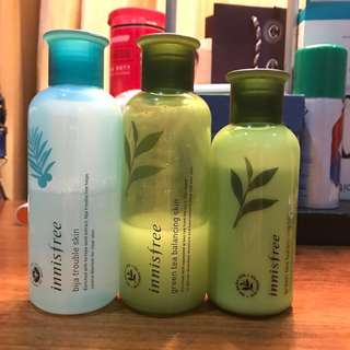 Buy 1 Get 1  Innisfree products