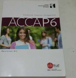 ACCA P6 2018 study text and revision notes (PDF)