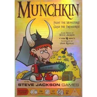 Munchkin Foil Edition, Special Foil Edition Box of Munchkin