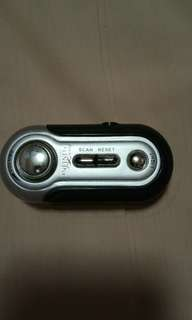 Infiniti radio with flashlight, battery operated 3 A