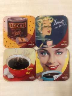 Nescafe Tin Coasters