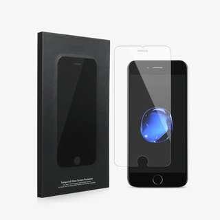 免郵2018 iPhone加厚手機玻璃膜 買一送一 加送貼膜輔助器