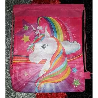 Unicorn Drawstring Bag