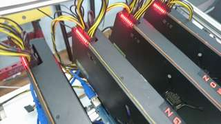 Ready-to-mine monero cryptonight v7 mining pc. Sapphire vega64
