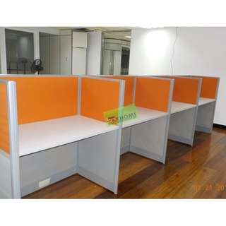 TWO-TONE OFFICE CUBICLES WORKSTATIONS--KHOMI