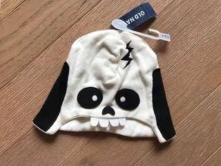 全新 Old Navy skull baby hat BB 骷髗骨造型帽 Gap