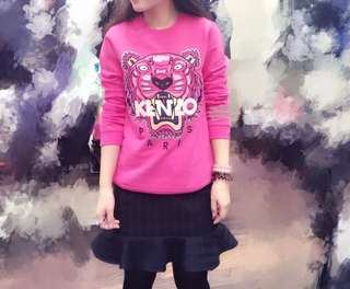 Kenzo pink jumper