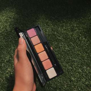 elf sunset prism eyeshadow palette