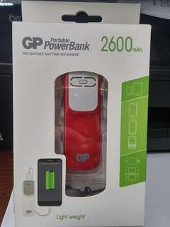 GP Portable PowerBank (2600 mAh)