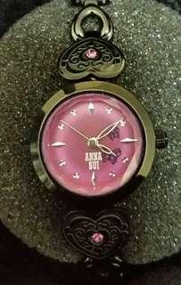 Anna Sui 蝴蝶水晶手鍊錶 (日本)