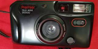 Premier tele wide 3000D 35 mm film camera
