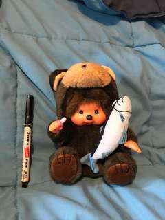 棕熊造型 Monchhichi