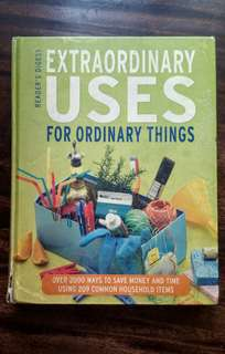 🔱EXTRAORDINARY USES FOR ORDINARY THINGS🔱
