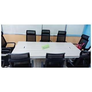 CT-4701 CONFERENCE TABLE 240X120cm COLOR OAK--KHOMI