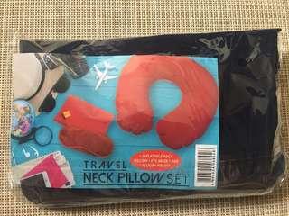 Travel Neck Pillow Set