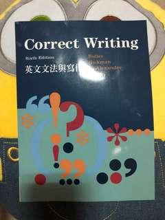 🚚 全新 correct writing