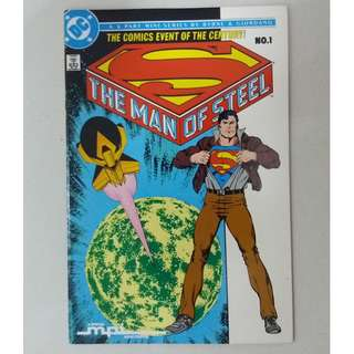 DC Comics Superman: The Man of Steel (6-part Mini-Series) Complete Set