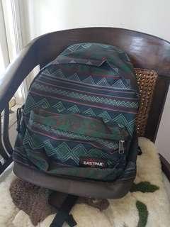 Eastpak Green Patterned Backpack
