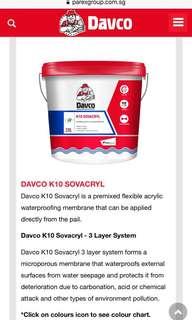 Waterproofing Acrylic Primer & K10 Sovacryl