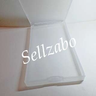 Rectangle : Flip : Cases : Casings : Box : Containers : Toiletries : Tools : Put : Stationery : Stationeries : Storage : Store : Travel : Travelling : Use : Portable : Transfer : Transferring : Refill : Refilling : White Color : Multi Purpose : Sellzabo